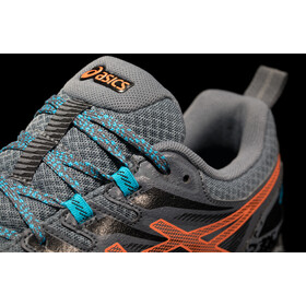 asics Gel-Trabuco Terra Shoes Men, metropolis/marigold orange